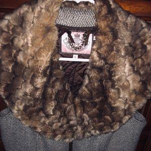 Juicy Couture vest women's size large